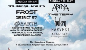 Celebr8.2 Prog Festival: Saturday May 11th & Sunday May 12th