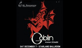 Goblin with special guests Zombi [Starland Ballroom, December 7, 2013]