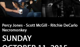 Percy Jones – Scott McGill – Ritchie DeCarlo / Necromonkey: [October 11, 2015]